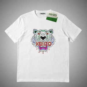 KENZO Lüks Erkek Tasarımcı T Gömlek Çizgili Harf Baskı T gömlek erkekler Kadınlar Tasarımcı Tişörtlü Kısa Kollu Tişörtler Boyut S-XXL # 54619