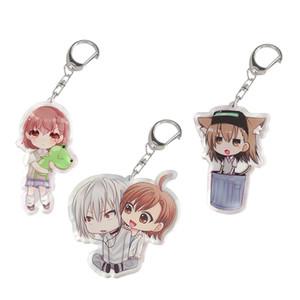 Anime Bearchain Magical Некоторые Mikoto Acrylic Индекс Keyring Figure Charms Gifts Ускоритель Cute Misaka Plnph