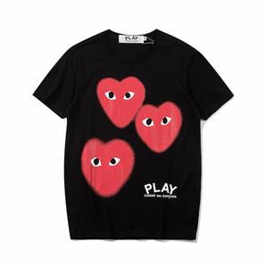 2020 Sommer T shirt Herren designer Schwarz T shirts Frauen mens casual Kurzarm Baumwolle tops tees Brief drucken hip hop männlichen designer Kleidung