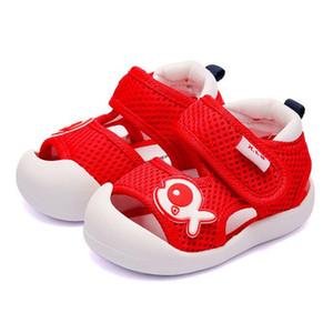 Nouveau Summer Sandals Animaux Mignons Chaussures D'enfant Sandale Respirant Coton Bébé Garçons Filles Chaussures Enfants Sandales Infantile Garçons Filles Premiers Marcheurs