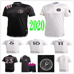 2020 2021 Inter Miami Socer Jerseys BECKHAM PIZARRO PELLEGRINI TRAPP Custom 20 21 INTER MIAMI CF Home Away Adult Kids Football Shirt Uniform
