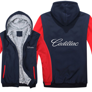 Winter Hoodies Warm Men Fashion Wool Liner Jacket Sweatshirts Men Coat