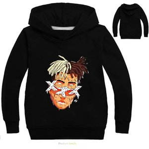2-12Years Xxxtentacion Sweatshirt Baby Red Hoodie Boy Clothes Kids Boys Hoodies for Teenagers Sweaters Pullovers Infant Nova