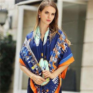 Mai Tong eşarplar 60cm * 60cm bahar yeni Bayan kale ev Avrupa Küçük kare eşarplar scarves0256