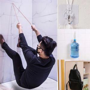 10pcs Super Strong Wandhaken Transparent Saugnapf Sucker Aufhänger für Badezimmer