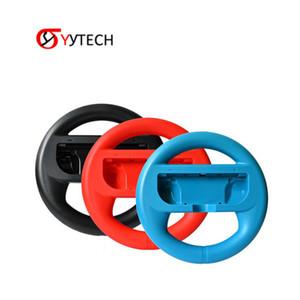 닌텐도 SYYTECH 뜨거운 판매 게임 액세서리 여러 색상 조이 콘 레이싱 스티어링 휠 핸들 그립 조이 콘 NS NX 컨트롤러 스위치