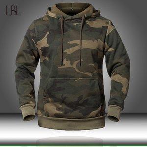 Camuflagem Hoodies Homens 2020 camisola nova forma masculino Camo Hoody Hip Outono Hoodie Inverno Mens Clothing EUA / EUR Tamanho