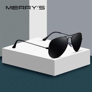 MERRYS DESIGN Men Women Classic Pilot Polarized Sunglasses 58mm UV400 Protection S8025 Y200619