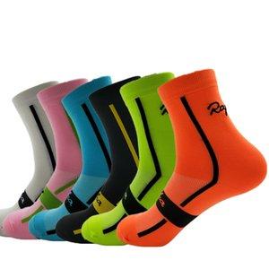 RApha Yeni Varış Unisex Erkekler Açık Bisiklet Çorap Spor Koşu Ayakkabıları Nefes Kadın Bisiklet Çorap 6 Renkler