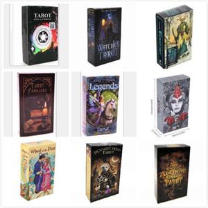 Tarocchi Strega Rider Waite Smith Shadowscapes selvaggio mazzo di tarocchi Consiglio le carte del gioco con Colorful Box Versione Italiana del partito regalo Famiglia Card Game