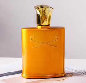 Meilleures ventes nouvel or cologne irlandais tweed hommes parfum vaporisateur 120 ml odeur durable de bonne qualité à haute capacité de parfum grande croyance en or