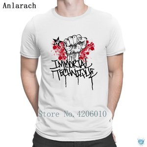 Immortal Technique Rap T-Shirt Free Shipping Designing Summer Letter T Shirt For Men Nice HipHop Tops Cotton Tee Shirt Slim Fit