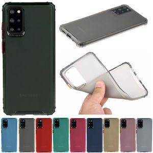 Samsung Galaxy S20 TPU Kılıf Artı A10, A20, A30, A51, A71 A10S A20S Yumuşak Silikon Koruyucu Kapak