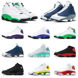 Phantom 13s Bred 13 Дизайнерские туфли для мужчин Баскетбольные кроссовки XIII Love Respect Черно белые плей-офф Пшеница DMP Flints Детские спортивные кроссовки