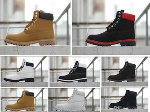 Newest 2020 martin boots women men Sneakers Military Boost Chestnut Triple Black White Camo Winter Boots size 36-46