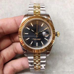 2020 venta caliente fecha de alta calidad reloj m126333-0014 41mm esfera de color negro 2813 movimiento automático de zafiro de cristal de los hombres reloj mecánico automático
