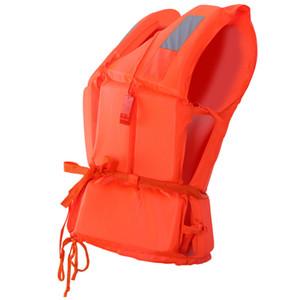 2 pcs1pcs Univesal Kinder Erwachsene Schwimmweste Schwimmen Bootfahren Strand Outdoor Survival Aid Sicherheitsjacke Für Kind Mit Pfeife C19041201