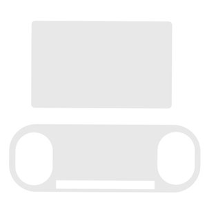 소니 PS 비타 PSV2000를 들어 2PCS / 많은 게임 플레이어 보호 필름 LCD 앞면 뒷면 화면 보호 필름 투명 반사 방지