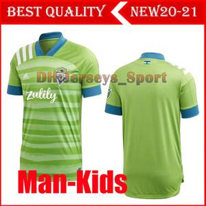 2012 2021 Yeni Seattle Sounders FC Deplasman Futbol Jersey kitleri 20 21 Ev Ruidíaz Morris DEMPSEY TORRES Formalar Futbol takımı Gömlek