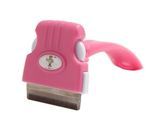 10PCS New Rotating Pet Hair Remove Comb Rotating Dog Brush Professional Shedding Tool Dog Grooming Brush Small Medium Large