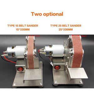 Multifunctional Grinder Mini Electric Belt Sander Polishing Grinding Machine Cutter Edges Sharpener Belt Grinder Sanding Sale