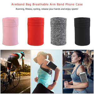 Elastic Armband Bag Breathable Arm Band Mobile Phone Cellphone Case for Outdoor Night Jogging Sports Fitness