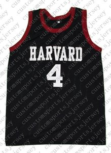 atacado Jeremy Lin # 4 costurado New Basketball Jersey Preto personalizado qualquer nome número HOMENS MULHERES JOVENS BASQUETEBOL JERSEYS