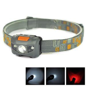 Mini Portable Headlamp 600LM Headlight Cree R3 Headlamps LED Flashlight Headlights Torch Lanterna With Headband Hiking Camping JW501