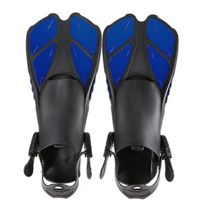 Lixada Swim Fins Floating Training Fin Flippers with Adjustable Heel for Swimming Diving Snorkeling Water Sports