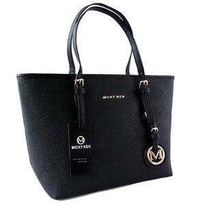 2020 de alta qualidade MICKY KEN senhoras marca saco simples moda bolsa de cruz padrão de couro PU saco de compras saco grande ombro