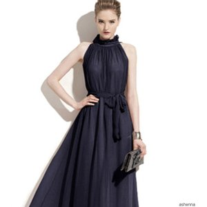 womens designer Atmospheric long black female banquet evening large size dress skirtMEAC RXBM