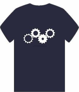 Gears Men T-Shirt S-3Xl Cogs Sprockets Cog Wheels Bike Car Motor Boat Machine Nova T-Shirt engraçada