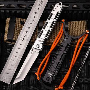 2019 جديد شحن مجاني outdoor الطي سكين العسكرية الدفاع الذاتي البرية بقاء التخييم 7cr17mov الصلب الفاكهة سكاكين الصيد أدوات edc