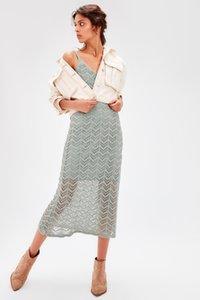 Trendyol Nane Midi Kazak Elbise TWOAW20EL0749