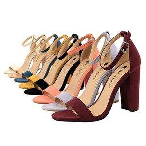 моды на высоких каблуках BigTree обувь женские замшевые пряжкой партии высокие каблуки замша партии высокие каблуки, легкие женские сандалии