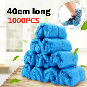 Disposable Galosh One Time Shoe Covers Thickening Non-woven Fabrics Slip-proof Disposable Shoes Cover Environmental Household Protective