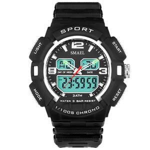 luxo Sports Relógios Homens 30M impermeável s Presentes Choque Resisitant Militar Relógios aniversário masculino Mens Wrist Relógios WS1378