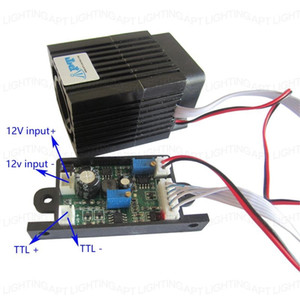 Modulo laser RGB luce della fase di messa a fuoco regolabile 300mw 532nm Green Light verde con fai da te TTL del bordo di driver