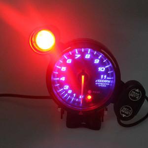 새로운 보편적 인 3.75 인치 자동차 타코미터 TACHOMETER 블루 LED 라이트 게이지