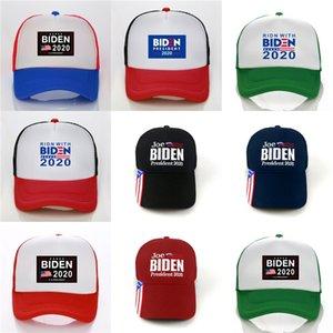 Camo Donald Biden 2020 Cap 5 стилей делают Америку великой снова шляпа 3D вышивка шапки мужчины баскетбол бейсболки регулируемые Snapbacks #765