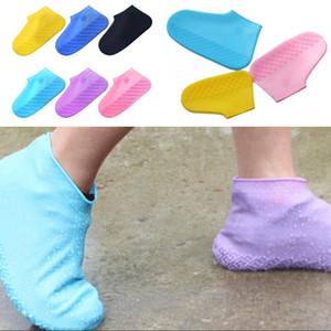 Antiskid Silikon-Schuh-Abdeckung wasserdicht Schuh-Abdeckung Mann Frauen Regenschutz Schuh-Abdeckung für Schlamm Schnee und Sand