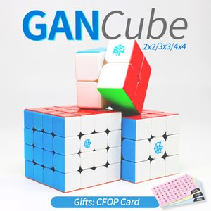 Gan Cube velocidade Magia Cubos 2x2x2 3x3x3 4x4x4 GAN 356x 356 Air SM 354m 460m 249 v2 M 356R Stikerelss Magnetc Cube 3x3 4x4 2x2 Y200428