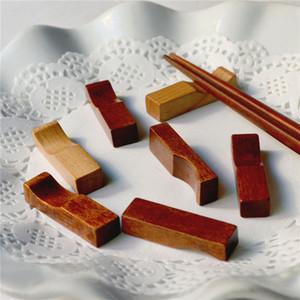 Hölzerne Ess-Stäbchen Japanische Küche aus Holz Essstäbchenhalter kreative Dekorative Chopstick Rest Fast Verschiffen NO448