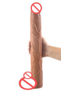 Erotic Brown Dildo Long Dong Big 39 * 5.6 cm Lzyaa Dildo enormi dildi Grandi donne anali adulte realistiche per sesso Penis Dildo giocattolo prodotto hot portme
