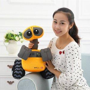 Free shipping Orignal Movie WALL-E EVE And WALL E Stuffed Soft Plush Toy Doll 35CM Y200703