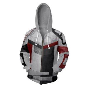 Mens Casual Hoodies Carlos Cosplay Hip Hop Hooded Sweatshirt Zipper Hooded Hoodie Costume Women Jackets Male Female Tops