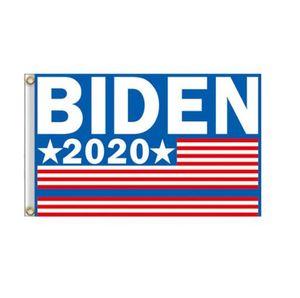 Trump 2020 Uçan Bayrak Amerikan Dekor Banner GGA3466-2 Asma Joe Biden Bayrağı 90 * 150cm Bahçe Bayraklar Başkanı ABD Büyük