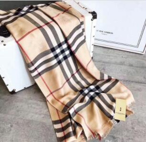 Multi-colors optional Brand Cotton scarf for Women 2019 Spring Designer Heart Plaid Long Scarves Wrap With Tag 180x70cm Shawls Scafs