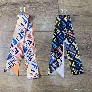 Designer Silk HANDBAG Bag scarf Headbands New Luxury women silk scraves 100% Top grade silk bag scarf hair Bands 5x120cm choose