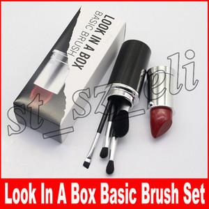 Pinceau de maquillage M Look In A Box Pinceau de base avec support à gros rouge à lèvres